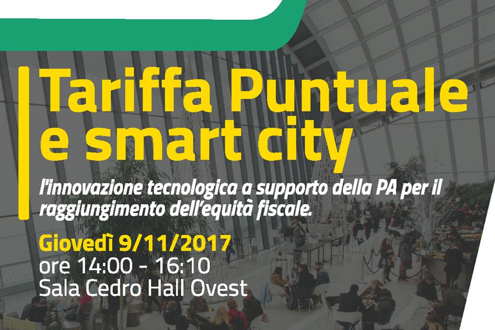 Ecomondo 2017 – Convegno: Tariffa Puntuale e smart city