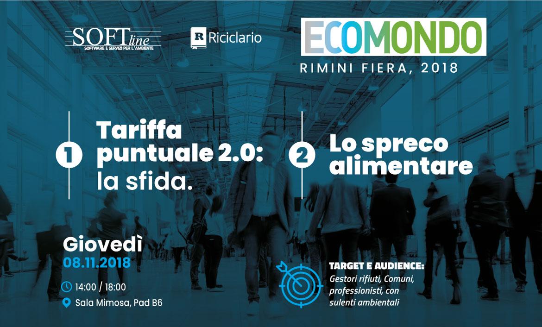 I convegni di Softline a Ecomondo 2018