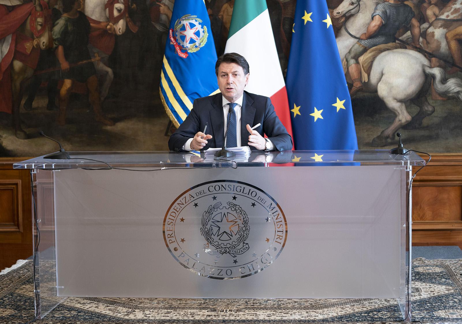 Il Presidente del Consiglio dei Ministri Conte
