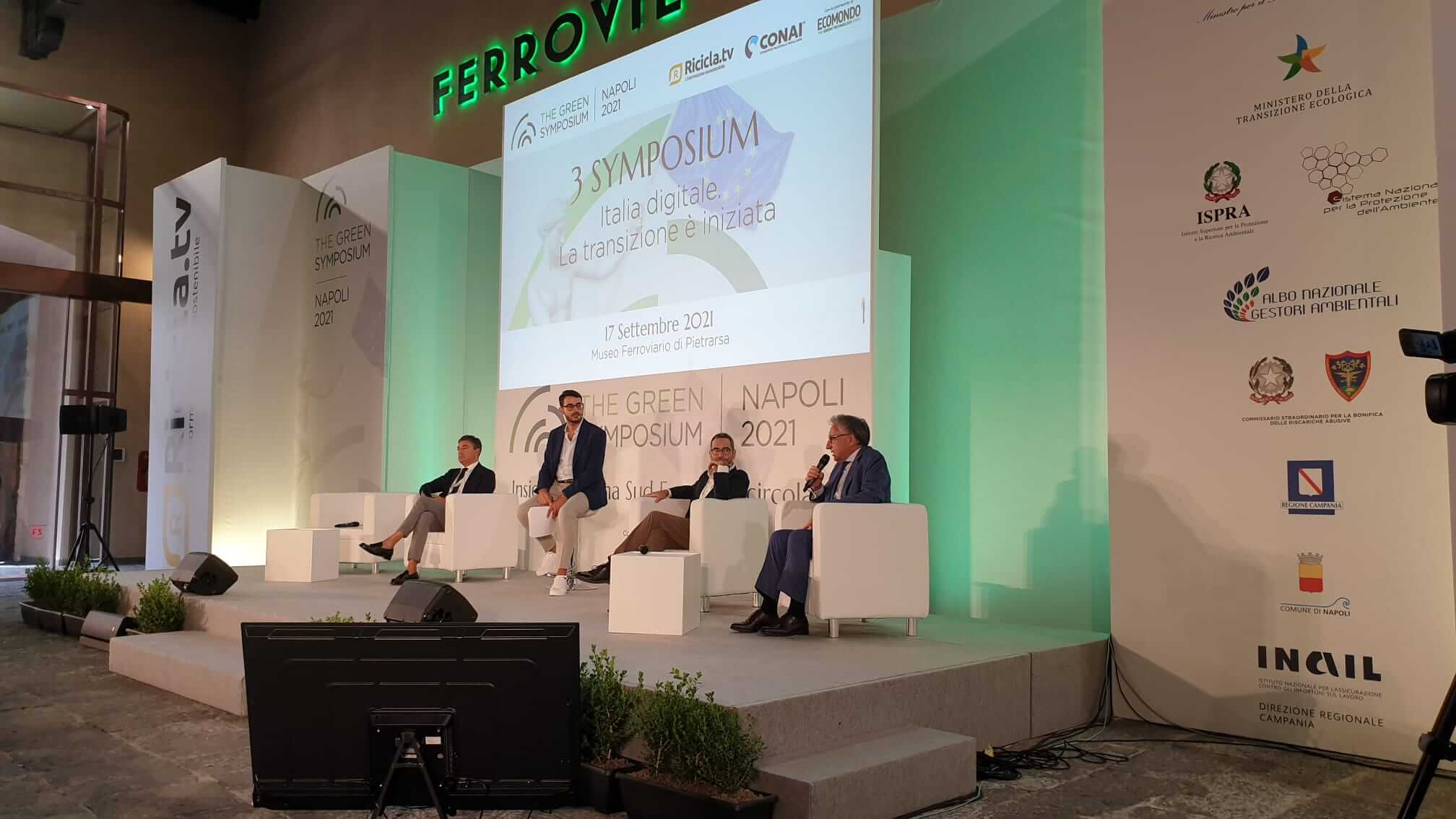 L'intervento di Gaetano Drosi al Green Symposium 2021