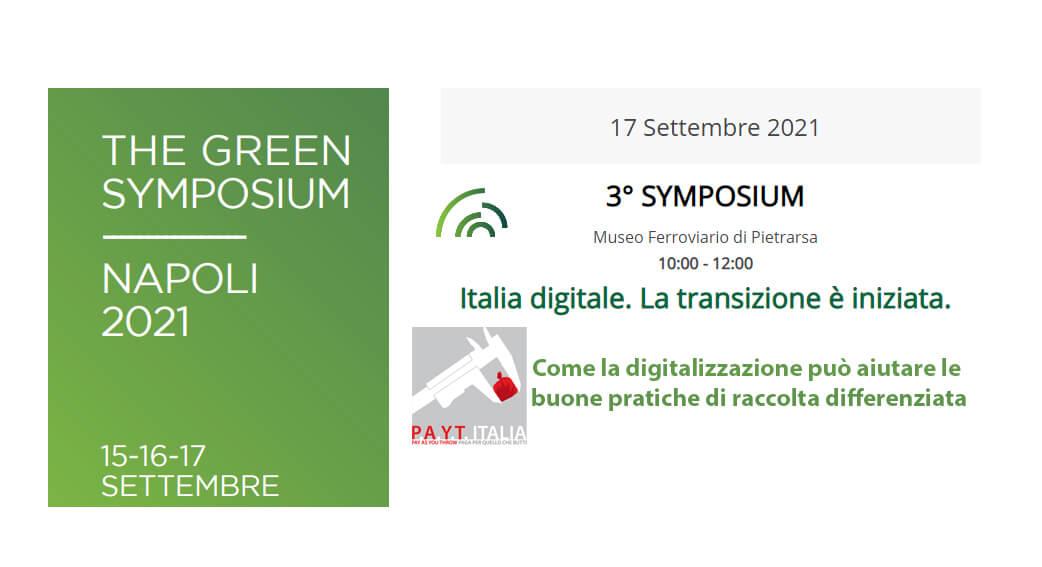 Green Symposium 2021 Payt Italia