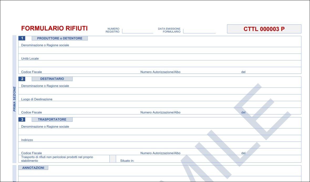 formulario facsimile