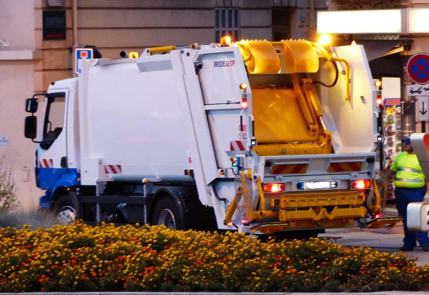 Automezzo per la raccolta rifiuti